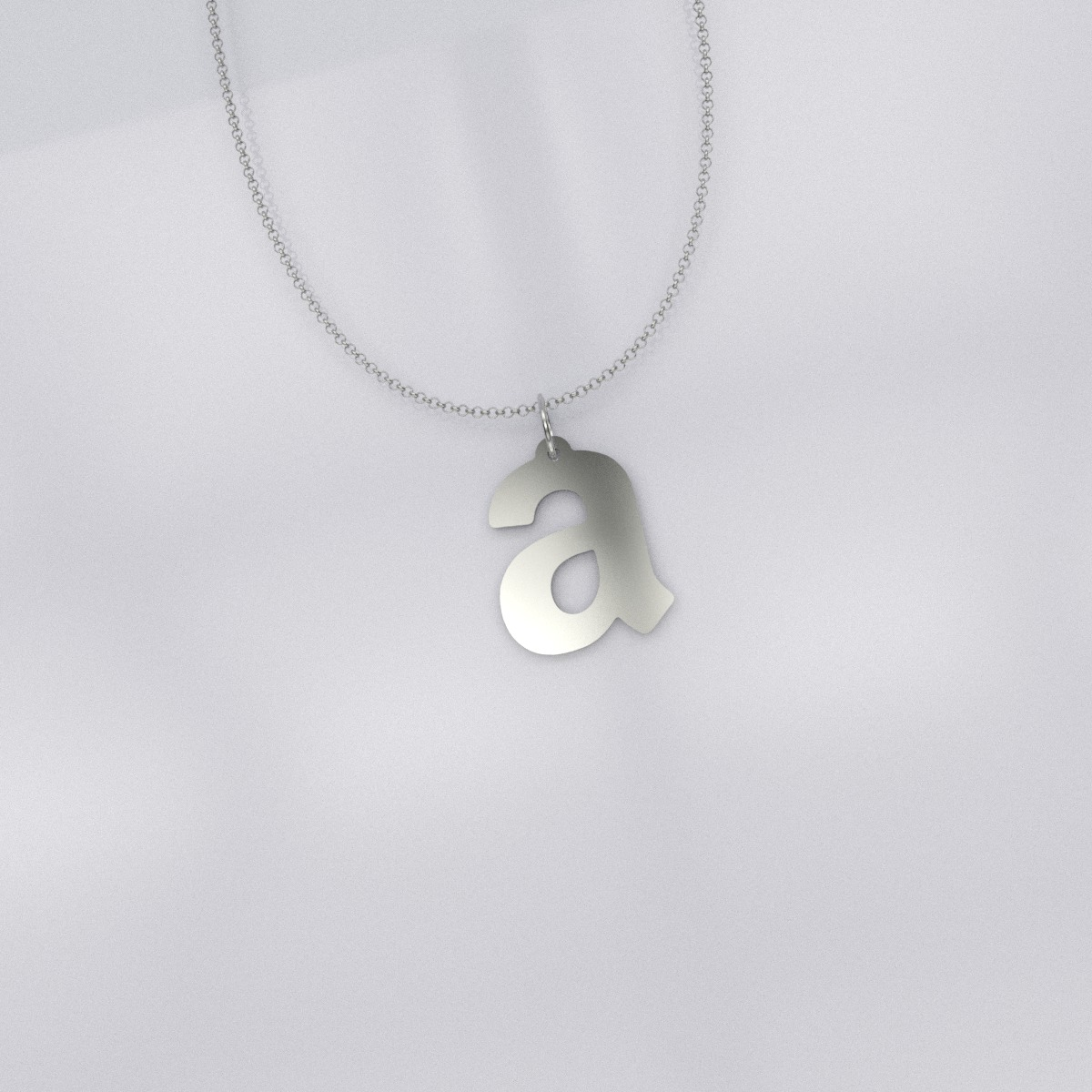 Pendant still silver plated